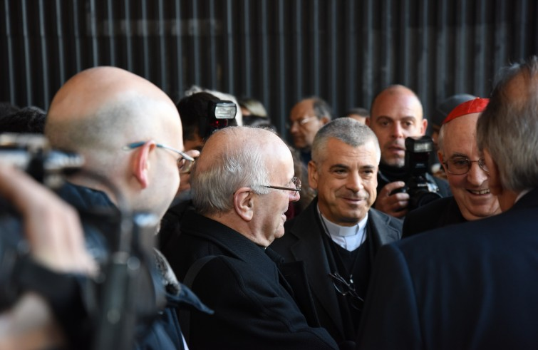 Monsignor galantino a ostello don luigi di liegro la for Luigi di liegro